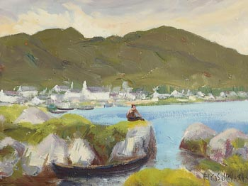 Fergus O'Ryan, Roundstone, Easter (1962) at Morgan O'Driscoll Art Auctions
