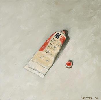 Mark Pepper, Vermillian (2000) at Morgan O'Driscoll Art Auctions