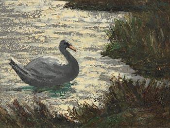 Ciaran Clear, Swan at Morgan O'Driscoll Art Auctions