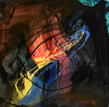 Kevin Sharkey, Abstract Composition (2017) at Morgan O'Driscoll Art Auctions