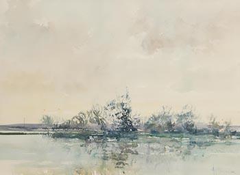 Arthur K. Maderson, River Landscape I at Morgan O'Driscoll Art Auctions