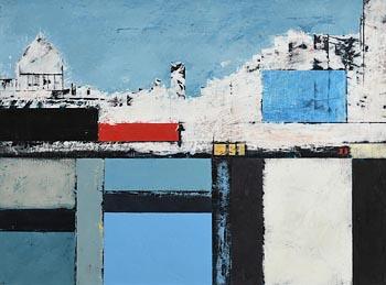 Michael Hales, Citadel (2021) at Morgan O'Driscoll Art Auctions