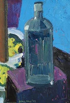 Brian Ballard, Still Life with Bottle (1999) at Morgan O'Driscoll Art Auctions
