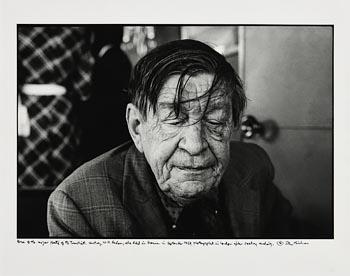 John Minihan, W.H. Auden, London (1972) at Morgan O'Driscoll Art Auctions