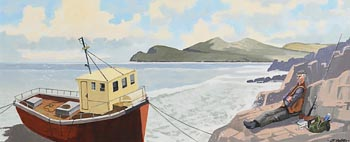 John Francis Skelton, The Day Off, Doulus Head, Kerry at Morgan O'Driscoll Art Auctions