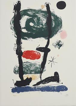 Joan Miro, The Watchers at Morgan O'Driscoll Art Auctions