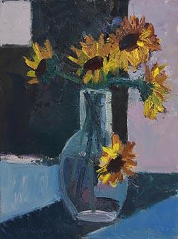 Brian Ballard, Sunflowers at Morgan O'Driscoll Art Auctions