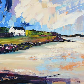 Paula McKinney, Beach House, Downings, Co. Donegal at Morgan O'Driscoll Art Auctions