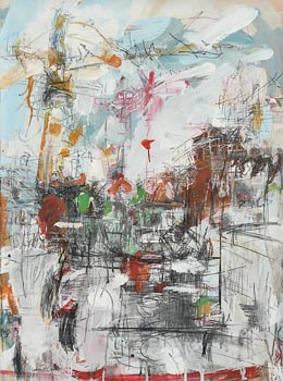 Emma Connolly, From Queen St. Towards Fountain St, Belfast, Number 4 (2006) at Morgan O'Driscoll Art Auctions