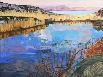 Jacqueline Stanley, Blue Pool, Durrus (2004) at Morgan O'Driscoll Art Auctions
