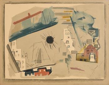 John Marin, City Movement at Morgan O'Driscoll Art Auctions