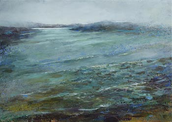 Jo Ashby, End of the Storm, The Cuinne, Sherkin at Morgan O'Driscoll Art Auctions