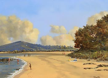 David Anthony Overend, Sunday Afternoon - Rathmullan, Co. Donegal at Morgan O'Driscoll Art Auctions