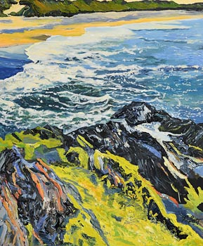 Dorothee Roberts, Long Strand, Castlefreke (near Rosscarbery) at Morgan O'Driscoll Art Auctions