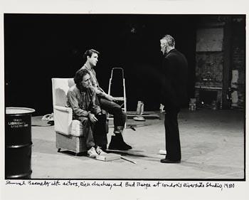 John Minihan, Samuel Beckett, London Riverside Studios (1980) at Morgan O'Driscoll Art Auctions