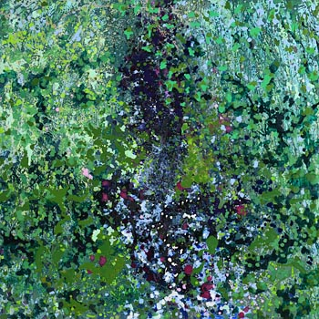 Janet Cruise Halpin, Leaf and Water (2020) at Morgan O'Driscoll Art Auctions
