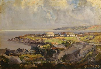 Rowland Hill, Showery Day, Bloody Foreland, Co. Donegal at Morgan O'Driscoll Art Auctions