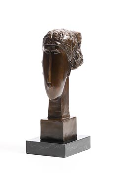 After Amedeo Modigliani, Female Head at Morgan O'Driscoll Art Auctions