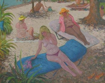 Patrick Leonard, Dassia, Corfu (1983) at Morgan O'Driscoll Art Auctions