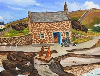 James MacIntyre, Fisherman's Cottage at Morgan O'Driscoll Art Auctions