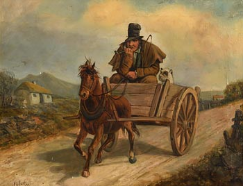 Charles Henry Cook, Hatching a Strategy at Morgan O'Driscoll Art Auctions