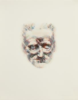 Louis Le Brocquy, James Joyce (1981) at Morgan O'Driscoll Art Auctions