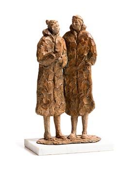 Fran Lambkin, Year of the Dry Robes (2021) at Morgan O'Driscoll Art Auctions