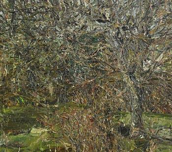 Nick Miller, Autumn Rain (2001) at Morgan O'Driscoll Art Auctions