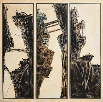 Jonathan Wade, Industrial Landscape at Morgan O'Driscoll Art Auctions