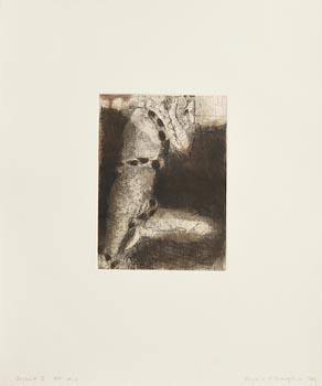 Hughie O'Donoghue, Descent I (1989) at Morgan O'Driscoll Art Auctions