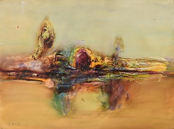 Gerald Davis, Distant Memory (1984) at Morgan O'Driscoll Art Auctions