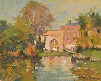 Liam Treacy, St. Stephen's Green, Dublin at Morgan O'Driscoll Art Auctions