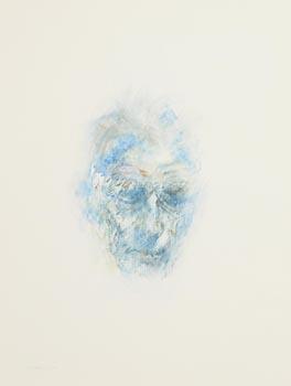 Louis Le Brocquy, Image of Samuel Beckett (1992) at Morgan O'Driscoll Art Auctions
