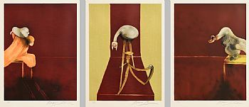 Francis Bacon, Second Version, Triptych 1944 (1989) at Morgan O'Driscoll Art Auctions
