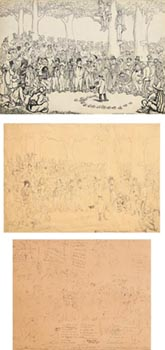 Jack Butler Yeats, Romantic Shades (c.1911) at Morgan O'Driscoll Art Auctions