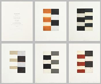Sean Scully, Munich Mirrors (2003) at Morgan O'Driscoll Art Auctions