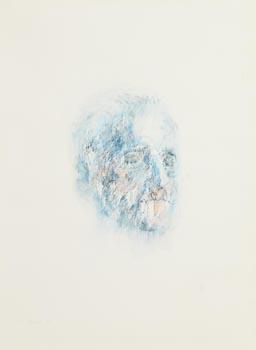 Louis Le Brocquy, Image of James Joyce (1992) at Morgan O'Driscoll Art Auctions