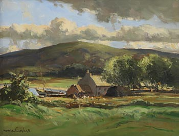 Maurice Canning Wilks, Coastal Homestead, West of Ireland at Morgan O'Driscoll Art Auctions