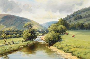 Charles J. McAuley, Glens of Antrim at Morgan O'Driscoll Art Auctions