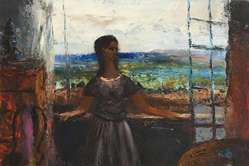 Daniel O'Neill, Before the Open Window at Morgan O'Driscoll Art Auctions
