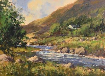 George K. Gillespie, Glendun River, Near Cushenden at Morgan O'Driscoll Art Auctions