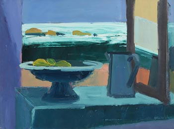 Brian Ballard, Lemons and Sea (1995) at Morgan O'Driscoll Art Auctions