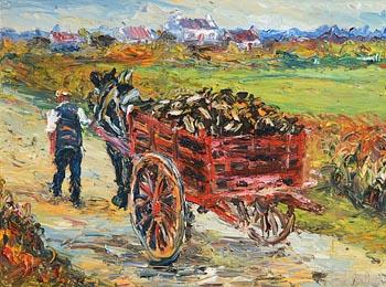 Liam O'Neill, Tine an Gheimhridh (Winter Fire) at Morgan O'Driscoll Art Auctions