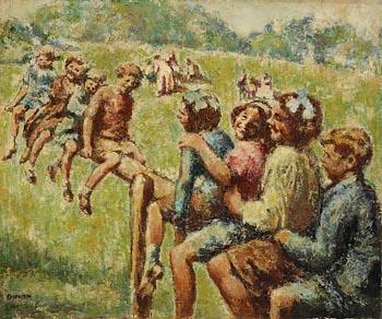 William Conor, Shuggleshoo at Morgan O'Driscoll Art Auctions