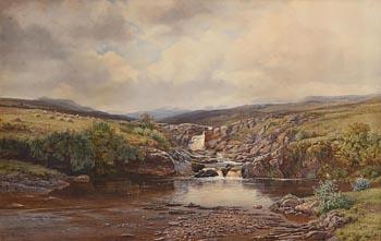 Henry Albert Hartland, Trout Stream, Co. Mayo (1877) at Morgan O'Driscoll Art Auctions