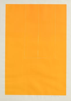 Robert Motherwell, Untitled (Yellow from London Series I) (1971) at Morgan O'Driscoll Art Auctions