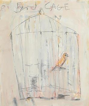 Basil Blackshaw, Birdcage at Morgan O'Driscoll Art Auctions