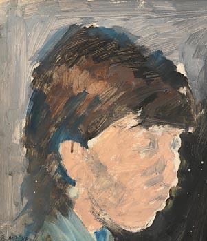 Basil Blackshaw, Portrait of Jude at Morgan O'Driscoll Art Auctions