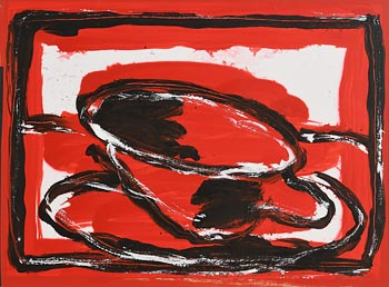 Neil Shawcross, From the Red Cup (2002) at Morgan O'Driscoll Art Auctions
