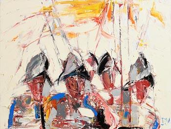 John Brian Vallely, Flight of the Earls at Morgan O'Driscoll Art Auctions